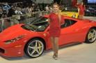 Garotas Ferrari Salão do Automóvel 2010