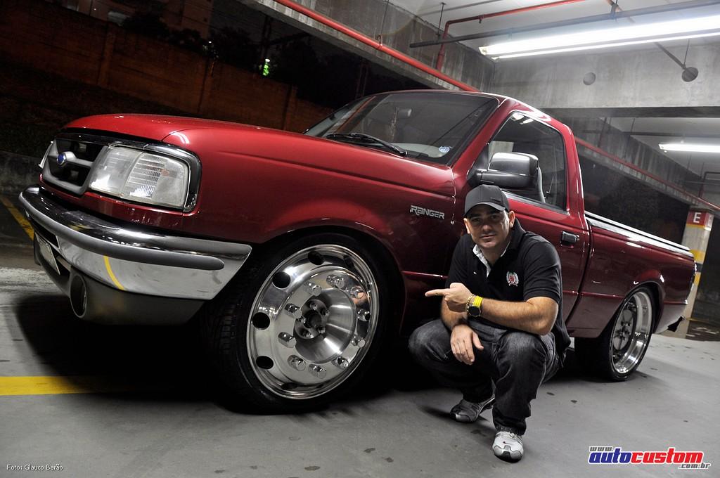 Ford Ranger XL'X 96: Rodas aro 22,5″ de caminhão
