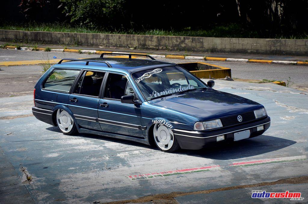 """[FOTOS] VW Quantum 1993 - BAIXA + 17"""" Aro-17-suspensao-fixa-quantum-1993"""
