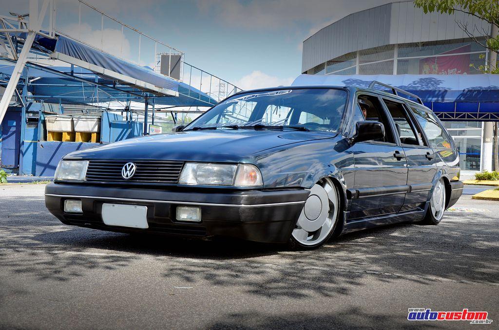 "[FOTOS] VW Quantum 1993 - BAIXA + 17"" Quantum-azul-1993-rebaixada"