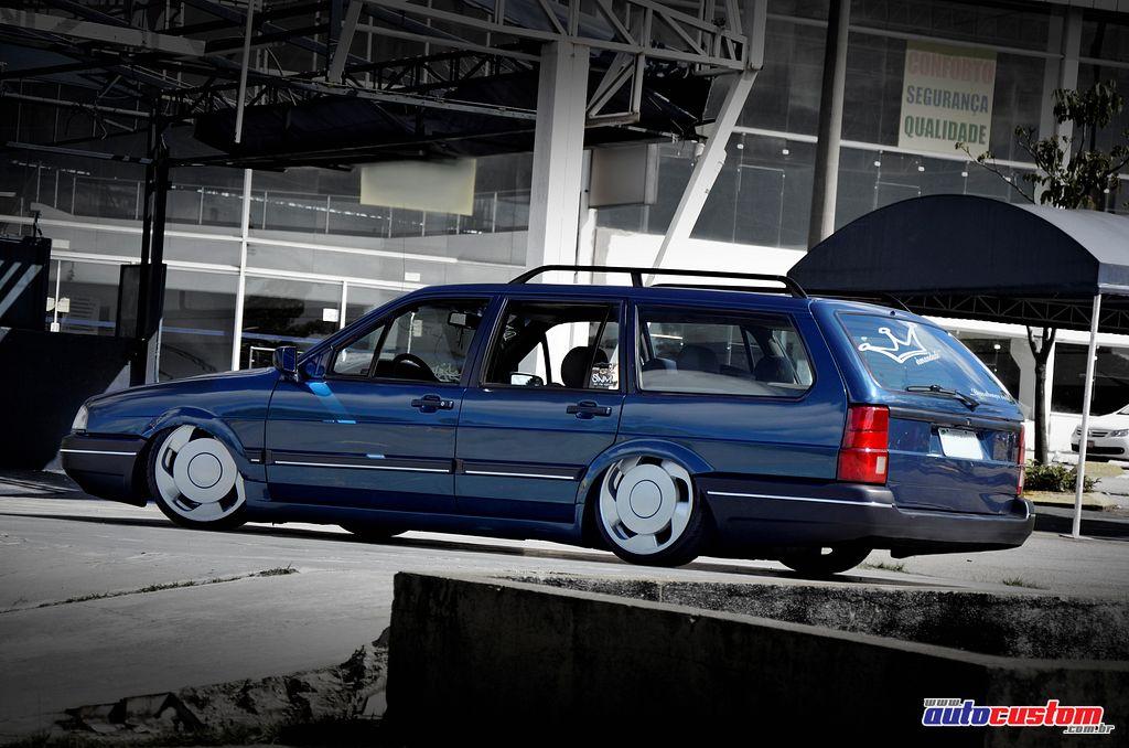 "[FOTOS] VW Quantum 1993 - BAIXA + 17"" Santana-quantum-azul-1993-body-drop"