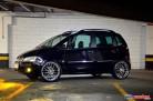 Fiat Idea 2006 rebaixado aro 20, preto, som automotivo, subwoofer, kit duas vias