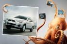Mitsubishi ASX 2013 - Campanha com molusco simbolizando aderência