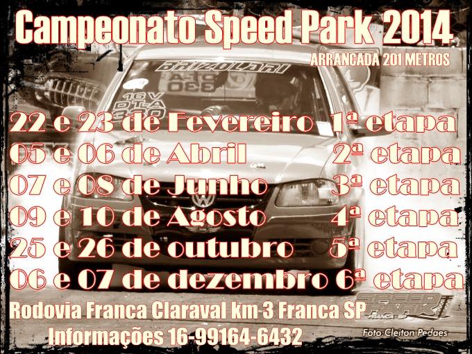 Campeonato de Arrancada Speed Park (Franca / SP)