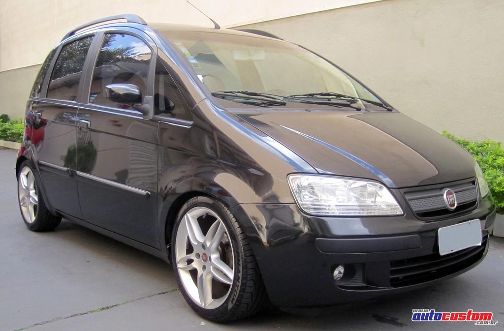 Idea hlx 2006 com grade modificada suspens o regul vel e for Fiat idea 2006 full 1 8