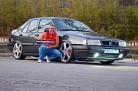 Cleber Ribeiro e seu Tempra 1995 com kit Turbo, rodas 19, som e suspensão a ar