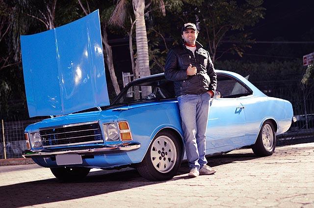 Opala Luxo 1978 com motor 6 cilindros aspirado