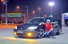 Civic LX 2005 com aro 17 e suspensão de rosca