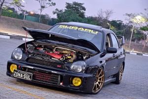Subaru WRX 2002 novo turbo, intercooler, suspensão e rodas