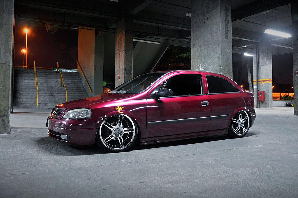 Astra GLS 2000 aro 19, suspensão a ar e 11000w de som ...