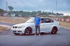 BMW 320i prata 2008 aro 20 e molas esportivas - Luciano Januário