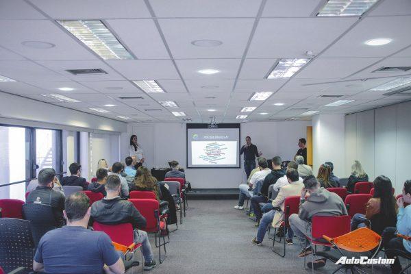 Palestra da Projfix apresentado na Abifa em São Paulo