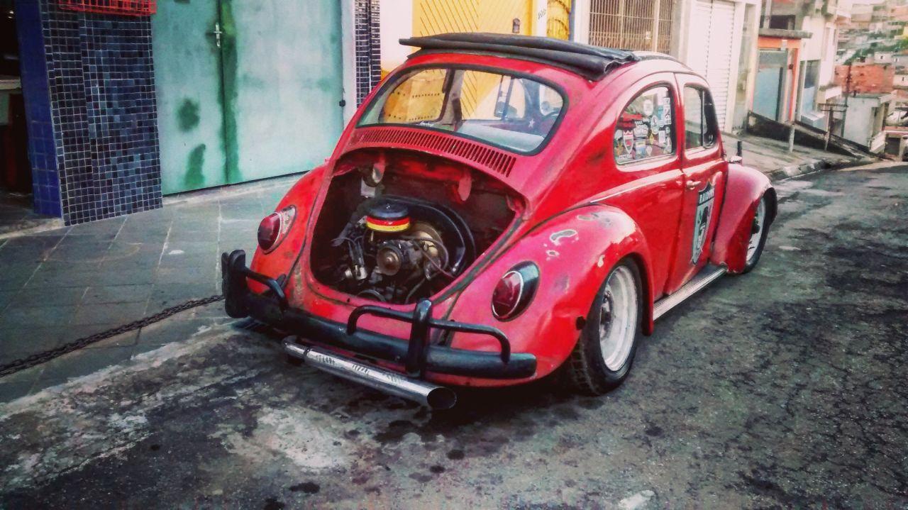 Meu Fusca 1971 Rat look
