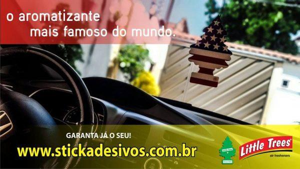 Aromatizante para carro LittleTrees na Stickart Adesivos!