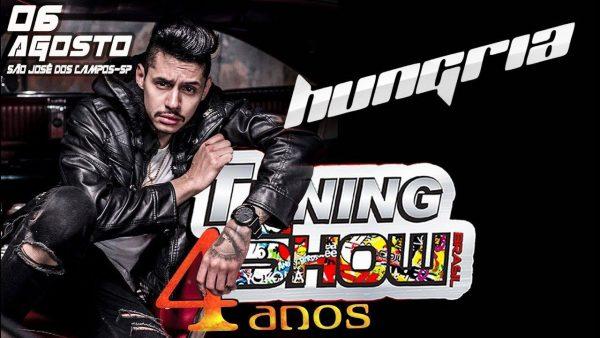 Hungria Hip Hop chamando todos para o TSB dia 6/8/17 em SJC